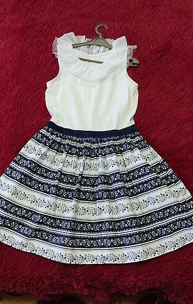 Летнее хлопковое платье LC Waikiki, рост 146-152 см