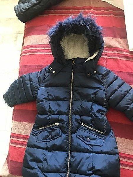 Курточка удлиненная б/у