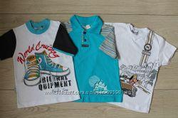 Хлопковые футболочки на возраст 4-5 лет