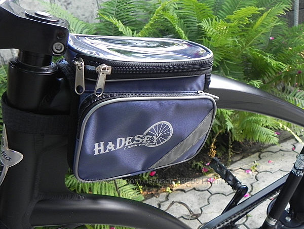 Велосумка - несессер на руль