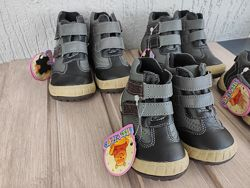 Vinny Bear, кожа, ботинки, обувь детская.
