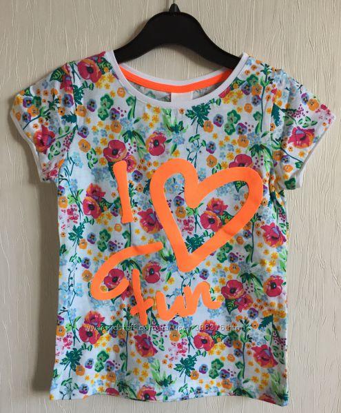 Очень красивые и качественные футболки 104см Германия