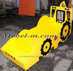 Детская кровать-трактор на азказ