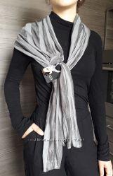 Новый легкий  полупрозрачный шарф платок