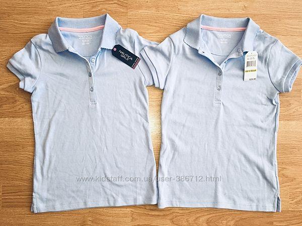 футболка школьная поло Nautica размер 134 на 8-10 лет