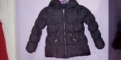 удлиненная куртка Zara на 5-6 лет