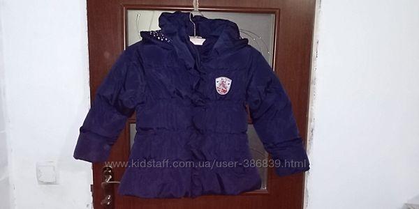 теплая курточка для девочки Blue seven