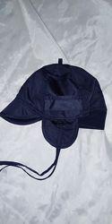 удобная шапка-ушанка мальчику 3-4 лет