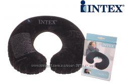 надувная подушка-подголовник Intex 68675 Travel Pillow