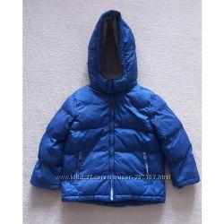 Куртка зимняя, пуховик детский для мальчика, Timberland, размер 110