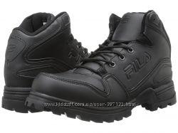 Ботинки   Fila    11-11. 5US  черные  оригинал