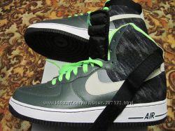 Кроссовки  Nike  Air  Force 1  10. 5US  green оригинал