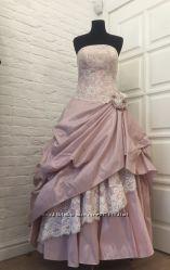 Эксклюзивное свадебное платье. Срочно Предлагайте цену