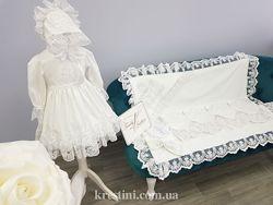 Крестильные наборы для девочек с кружевными платьями