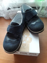 Продам кожаные туфли броги Palaris, р.30, по стельке 19,5см, в сост. новых