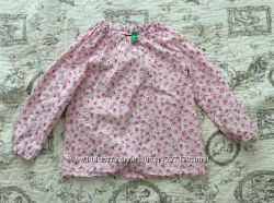 Рубашка блуза реглан Benetton 18-24м