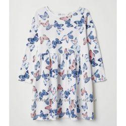 Милые платья H&М размер 2-4, 4-6, 6-8