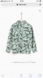 Zara стильные рубашки р. 9, 10, 11-12