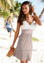 Женское пляжное платье Beach Time S-XS 34 размер оригинал 100 проц вискоза