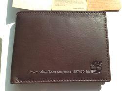 Мужской кошелек TIMBERLAND 13 x 9 см коричневый артикул MN103 100 оригинал