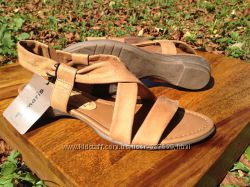 Женские босоножки TAMARIS 39 размер с нубука антилопы в фабричной коробке