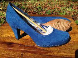 Замшевые туфли TAMARIS 38 р. 1-22413-20838 59. 95 в оригинальной коробке