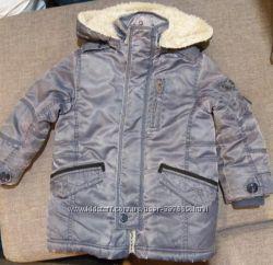 Теплая удлиненная курточка Wojcik
