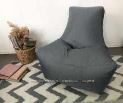 Кресло мешок большое Boss ткань оксфорд бескаркасное для дома и улицы