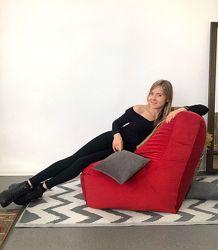 Кресло мешок груша пуф, мягкое кресло, ткань Италия