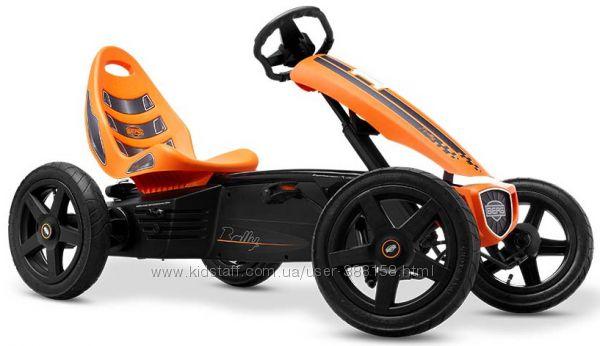 Веломобиль голландский  Berg Rally Orange
