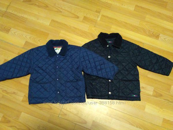 Итальянские стеганые курточки на 4-6 лет