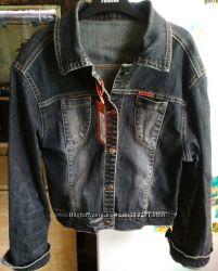 Крутой джинсовый пиджак, куртка Gestore