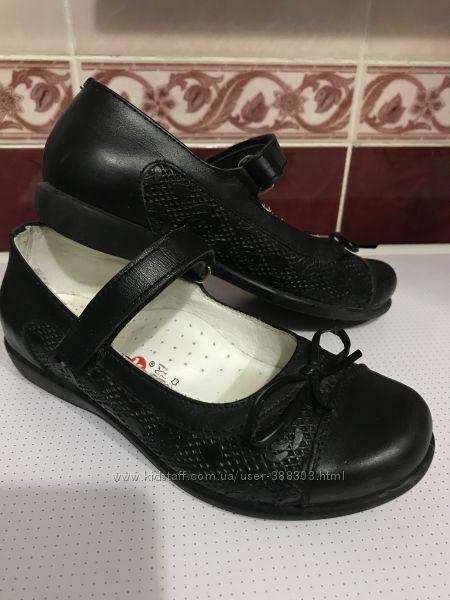 Школьные кожаные туфли Bayrak