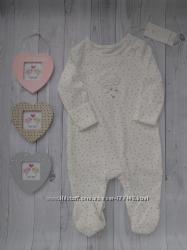Человечки для новорожденной девочки, Mothercare
