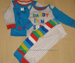 Пижама Mothercare для мальчика 9 мес.