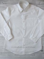 Белая рубашка george c длинным рукавом мальчику