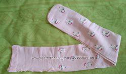 Розовые капроновые колготки на рост 134-150