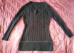 Серый свитер, размер S-М