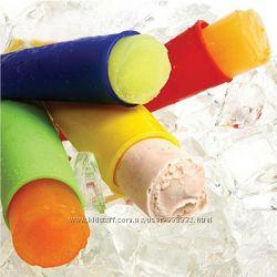 Силиконовая форма для мороженого с крышкой