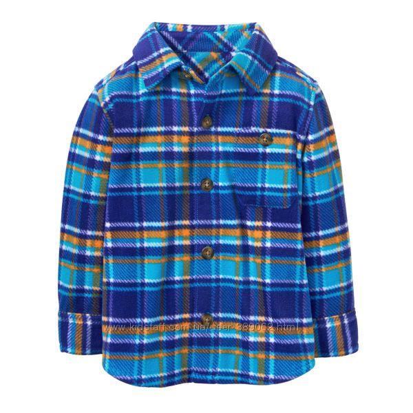 Флисовая рубашка Gymboree