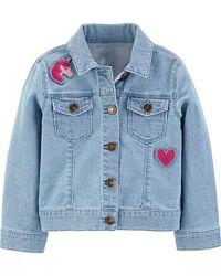 Джинсовая куртка Carters