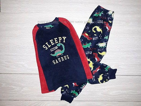 Тёплая пижама Rebel  на 4-5 лет