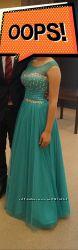 Платье выпускное, вечернее в пол
