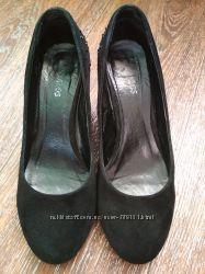 Туфли женские замшевые, 39 размера