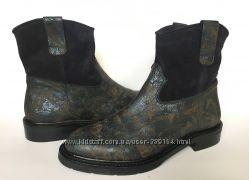 Кожаные полусапожки Stokton 37р. Италия