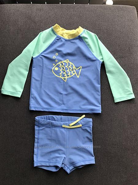 Купальный костюм H&M размер 74-80 см 6-12 месяцев