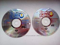 диски Family and friends  1, 2  CD