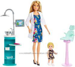 Barbie Игровой набор из серии Кем быть барби дантист стоматолог