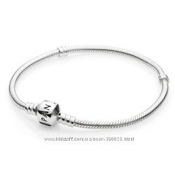 Браслет  классический Пандора Pandora из серебра