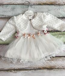 Очень красивое детское платье на рост 74, 86 см